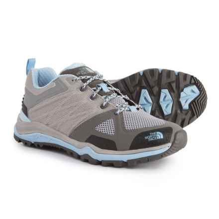 The North Face Ultra Fastpack II Trail Running Shoes (For Women) in Foil Grey/Powder Blue - Closeouts