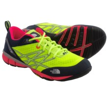 The North Face Ultra Kilowatt Training Shoes (For Women) in Dayglo Yellow/Rocket Red - Closeouts