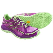 The North Face Ultra TR II Trail Running Shoes (For Women) in Byzantium Purple/Paradise Green - Closeouts
