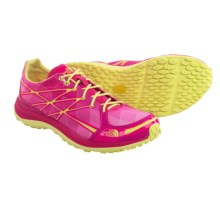 The North Face Ultra TR II Trail Running Shoes (For Women) in Glo Pink/Chiffon Yellow - Closeouts