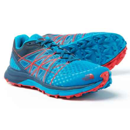The North Face Ultra Vertical Trail Running Shoes (For Men) in Shady Blue/Hyper Blue - Closeouts
