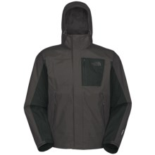 The North Face Varius Guide HyVent® Jacket - Waterproof (For Men) in Asphalt Grey - Closeouts