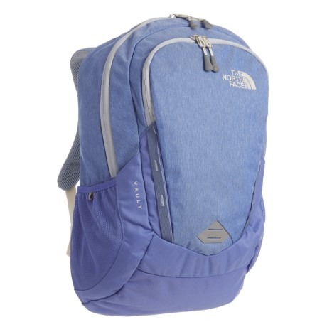 The North Face Vault 28L Backpack (For Women) in Stellar Blue Heather