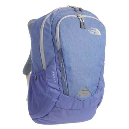 The North Face Vault Backpack - 28L (For Women) in Stellar Blue Heather - Closeouts