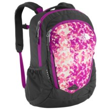 The North Face Vault Backpack (For Women) in Magic Magenta Mountain/Magic Magenta - Closeouts