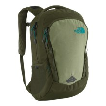 The North Face Vault Backpack in Forest Night Green/Enamel Blue - Closeouts