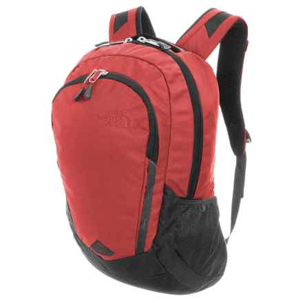The North Face Vault Backpack in Ketchup Red Emboss/Asphalt Grey - Closeouts
