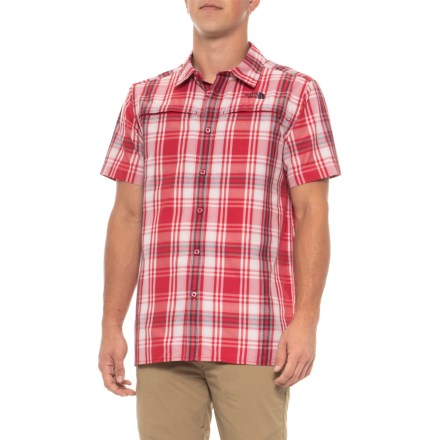 5ecddb3f3 The North Face Vent Me Shirt - Short Sleeve (For Men) in Rage Red