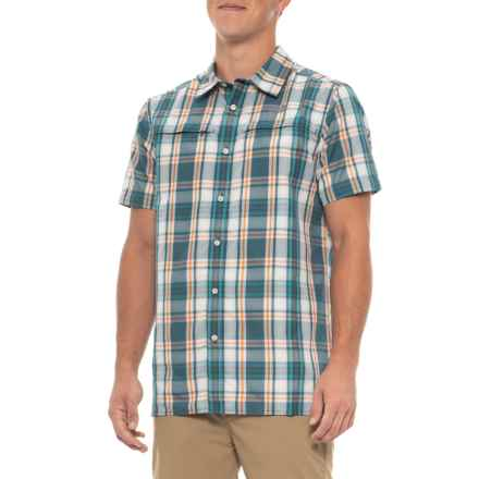 06d3ed5b273d The North Face Vent Me Shirt - Short Sleeve (For Men) in Shady Blue