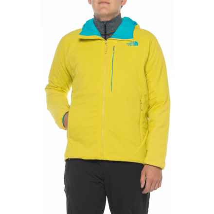 The North Face Ventrix Jacket - Insulated (For Men) in Acid Yellow/Algiers Blue - Closeouts