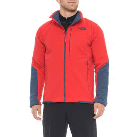The North Face Ventrix Jacket - Insulated (For Men) in Centennial Red/Shady Blue - Closeouts