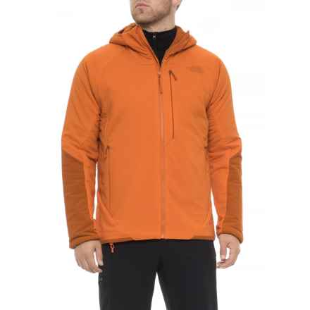 The North Face Ventrix Jacket - Insulated (For Men) in Kumquat Orange/Autumnal Orange - Closeouts