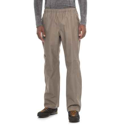 The North Face Venture 2 Pants - Waterproof (For Men) in Falcon Brown Heather - Closeouts
