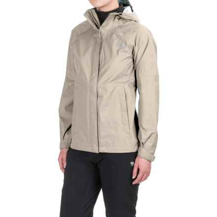 The North Face Venture Jacket - Waterproof (For Women) in Vintage White - Closeouts