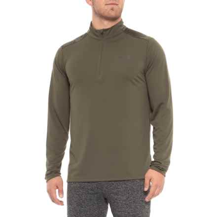 The North Face Versitas Shirt - Zip Neck, Long Sleeve (For Men) in Grape Leaf - Closeouts