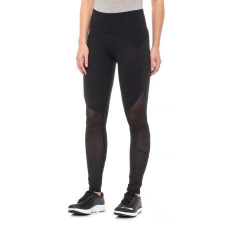 0376e586e0293 The North Face Vision Mesh Mid-Rise Tights (For Women) in Tnf Black