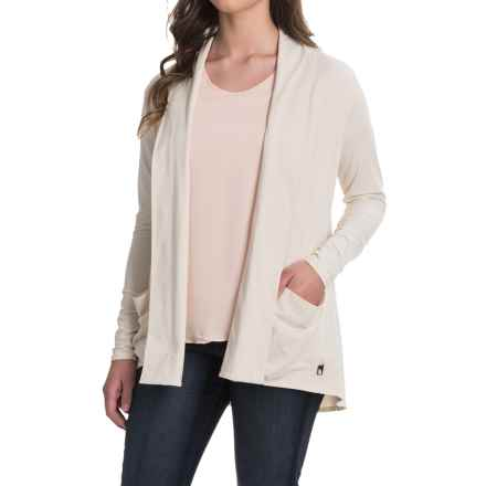 The North Face Vita Wrap Shirt - Long Sleeve (For Women) in Vintage White - Closeouts