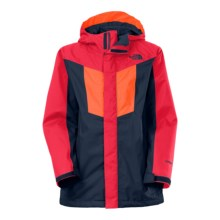 The North Face Vortex Triclimate® 3-in-1 Hooded Jacket - Waterproof, Insulated (For Little and Big Boys) in Cosmic Blue - Closeouts