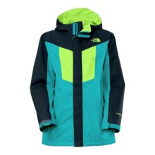 The North Face Vortex Triclimate® 3-in-1 Hooded Jacket - Waterproof, Insulated (For Little and Big Boys) in Enamel Blue - Closeouts