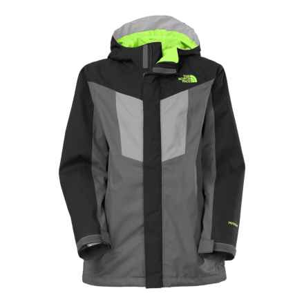 The North Face Vortex Triclimate® 3-in-1 Hooded Jacket - Waterproof, Insulated (For Little and Big Boys) in Graphite Grey - Closeouts