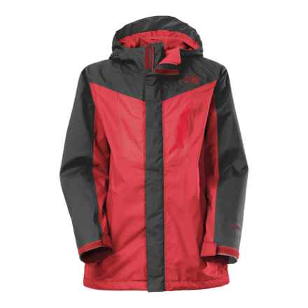 The North Face Vortex Triclimate® 3-in-1 Hooded Jacket - Waterproof, Insulated (For Little and Big Boys) in Tnf Red - Closeouts