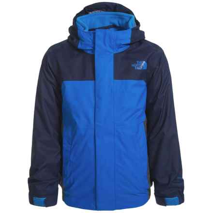 The North Face Vortex Triclimate® Jacket - Waterproof, 3-in-1 (For Toddler Boys) in Jake Blue - Closeouts