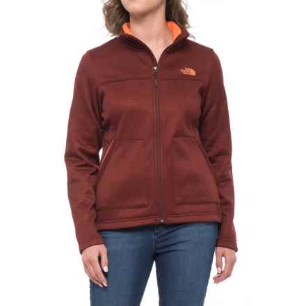 The North Face Wakerly Jacket - Full Zip (For Men) in Sequoia Red Heather - Closeouts