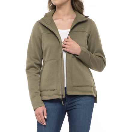 The North Face Wakerly Jacket - Full Zip (For Women) in Burnt Olive Green - Closeouts