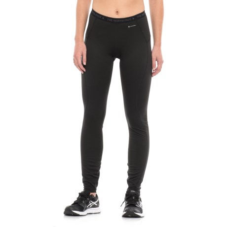 The North Face Warm Base Layer Pants (For Women) in Tnf Black