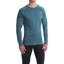 The North Face Warm Base Layer Top - Crew Neck, Long Sleeve (For Men) in Diesel Blue - Closeouts