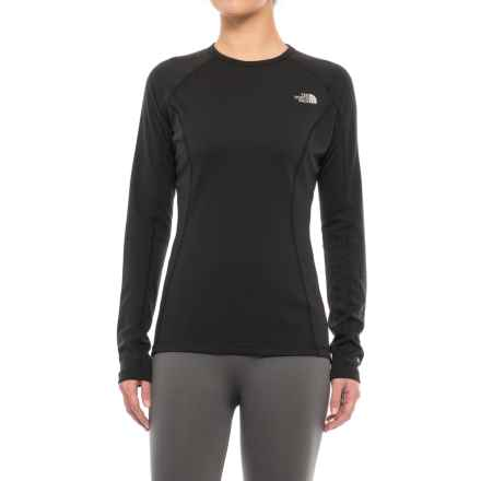 The North Face Warm Base Layer Top - Crew Neck, Long Sleeve (For Women) in Tnf Black - Closeouts
