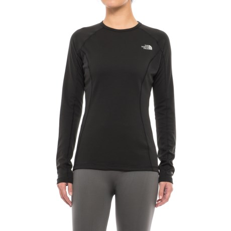 The North Face Warm Base Layer Top - Crew Neck, Long Sleeve (For Women) in Tnf Black