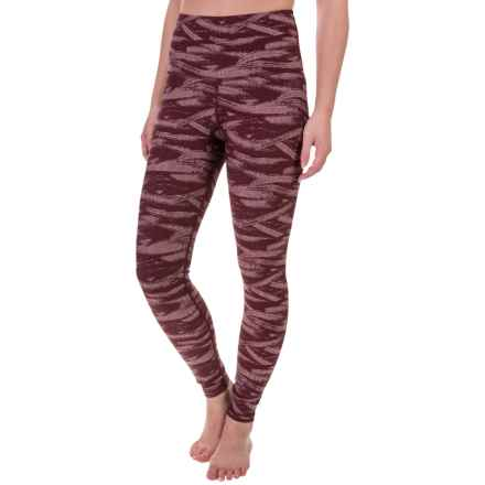 The North Face Warm Me Up Thermal Compression Tights (For Women) in Deep Garnet Red - Closeouts
