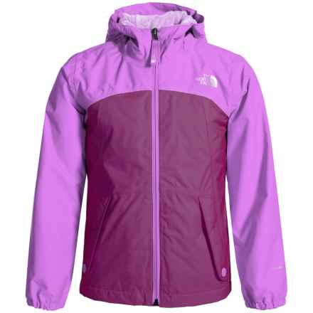 The North Face Warm Storm Jacket - Waterproof, Fleece Lined (For Little and Big Girls) in Roxbury Pink - Closeouts
