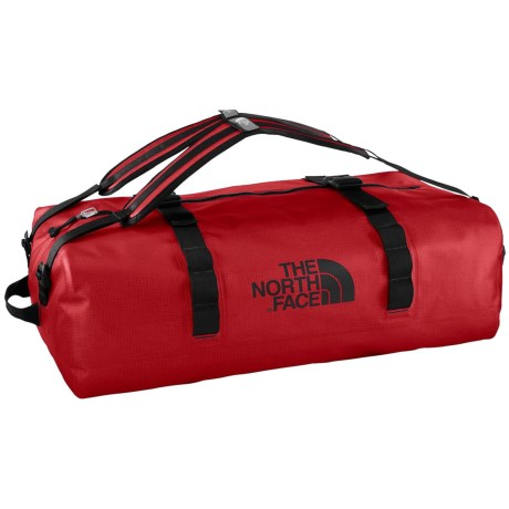 The North Face Waterproof Duffel Bag - Large in Tnf Red
