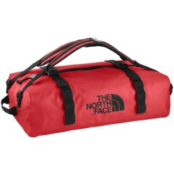 The North Face Waterproof Duffel Bag - Medium in Tnf Red
