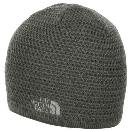 The North Face Wicked Beanie in Fusebox Grey - Closeouts