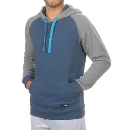 The North Face Wicker Hoodie (For Men) in Shady Blue Heather/Tnf Medium Grey Heather - Closeouts