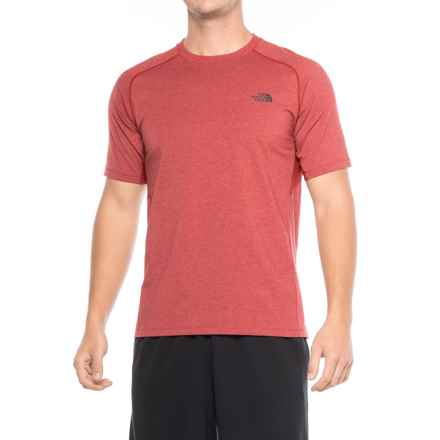 The North Face Wicker T-Shirt - Long Sleeve (For Men) in Cardinal Red Heather - Closeouts
