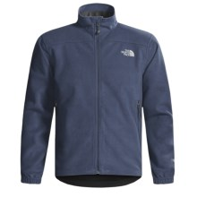 The North Face Windwall 1 Jacket - Fleece (For Men) in Deep Water Blue - Closeouts