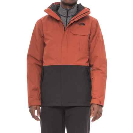 The North Face Winnfield Triclimate® Ski Jacket - Waterproof, Insulated, 3-in-1 (For Men) in Brandy Brown/Tnf Black - Closeouts