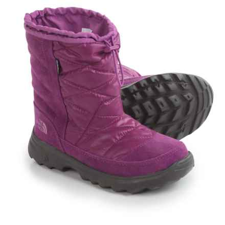 The North Face Winter Camp Snow Boots - Waterproof, Insulated (For Little and Big Kids) in Lux Purple/Wisteria Purple - Closeouts