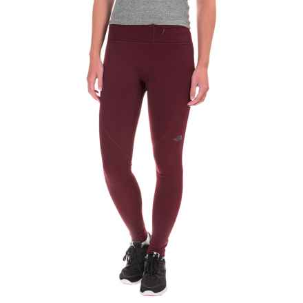 The North Face Winter Warm Tights (For Women) in Deep Garnet Red - Closeouts