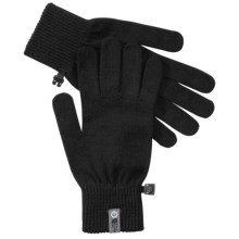 The North Face Wool Etip Gloves - Touch-Screen Compatible, Merino Wool Blend (For Men) in Tnf Black - Closeouts