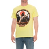 The Outsiders Free and Wild Graphic T-Shirt - Short Sleeve (For Men)