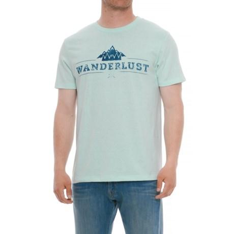 The Outsiders Wanderlust Graphic T-Shirt - Short Sleeve (For Men) in Wanderlust