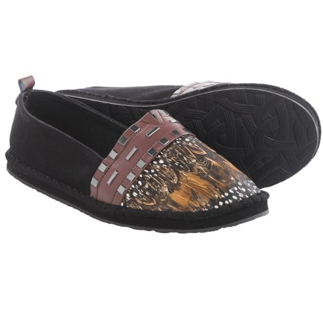 The Sak Echo Feather Shoes Slip Ons (For Women)