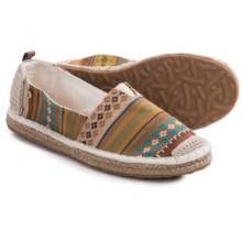 The Sak Ella Flat Espadrille Shoes (For Women) in Natural Stripe - Closeouts