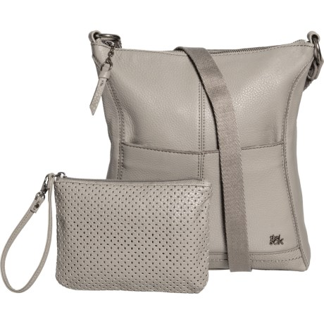 d0a8992a5 The Sak Lucia Crossbody Bag - Leather (For Women) in Grey