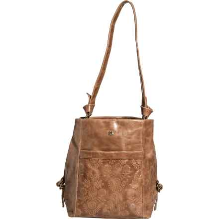 The Sak Runyon Bucket Bag - Leather (For Women) in Brown